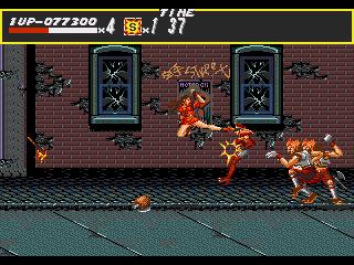 [MegaDrive] Streets of Rage 522