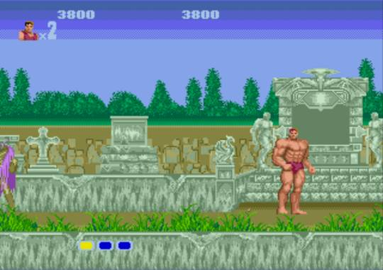 [MegaDrive] Altered Beast 547