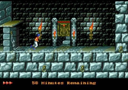 [MegaDrive] Prince of Persia 550