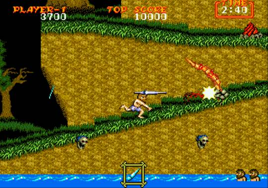 [MegaDrive] Ghouls'n Ghosts 551