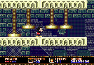 [MegaDrive] Mickey Mouse: Castle of Illusion 611