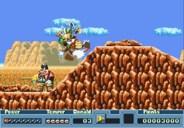 [MegaDrive] Donald Duck: QuackShot 615