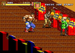 [MegaDrive] Streets of Rage 2 621