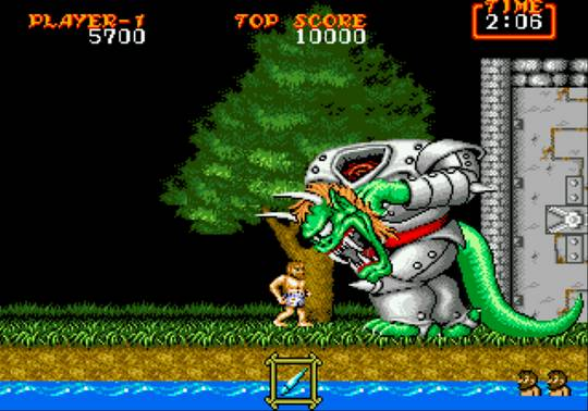 [MegaDrive] Ghouls'n Ghosts 650