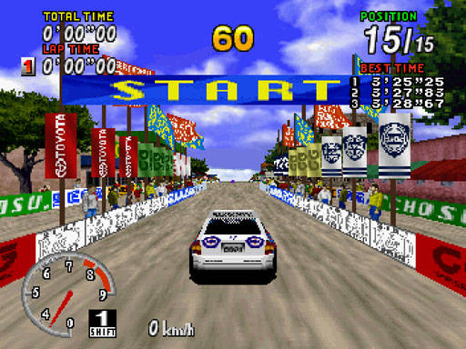 [SATURN] Sega Rally Championship 668