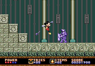 [MegaDrive] Mickey Mouse: Castle of Illusion 711