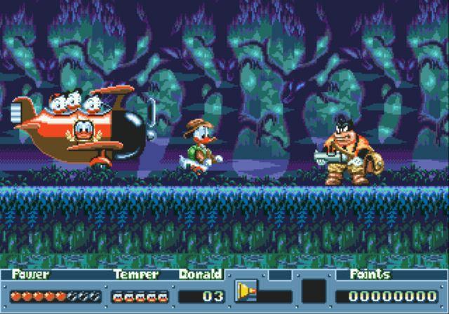 [MegaDrive] Donald Duck: QuackShot 715