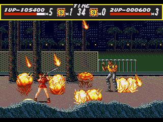 [MegaDrive] Streets of Rage 721