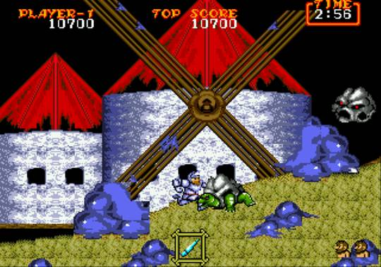 [MegaDrive] Ghouls'n Ghosts 743