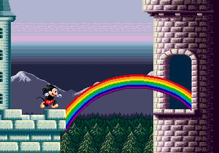 [MegaDrive] Mickey Mouse: Castle of Illusion 812