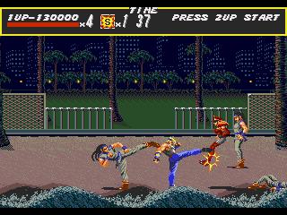 [MegaDrive] Streets of Rage 823