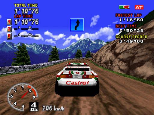 [SATURN] Sega Rally Championship 954