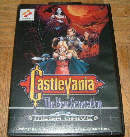 [MegaDrive] Castlevania : The New Generation A17