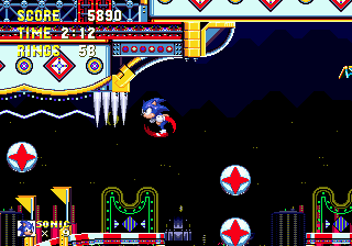 [MD]  Sonic 3 & Knuckles Cn210