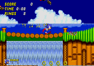 [MD] Sonic the Hedgehog 2 Emeral10