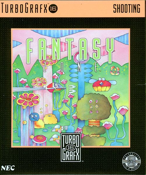 [PC Engine] Fantasy Zone Fz-tg110