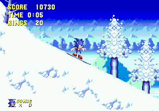[MD]  Sonic 3 & Knuckles Ic210