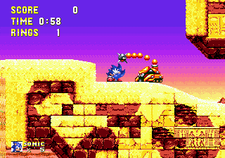 [MD]  Sonic 3 & Knuckles S210