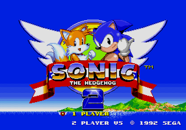 [MD] Sonic the Hedgehog 2 Title10