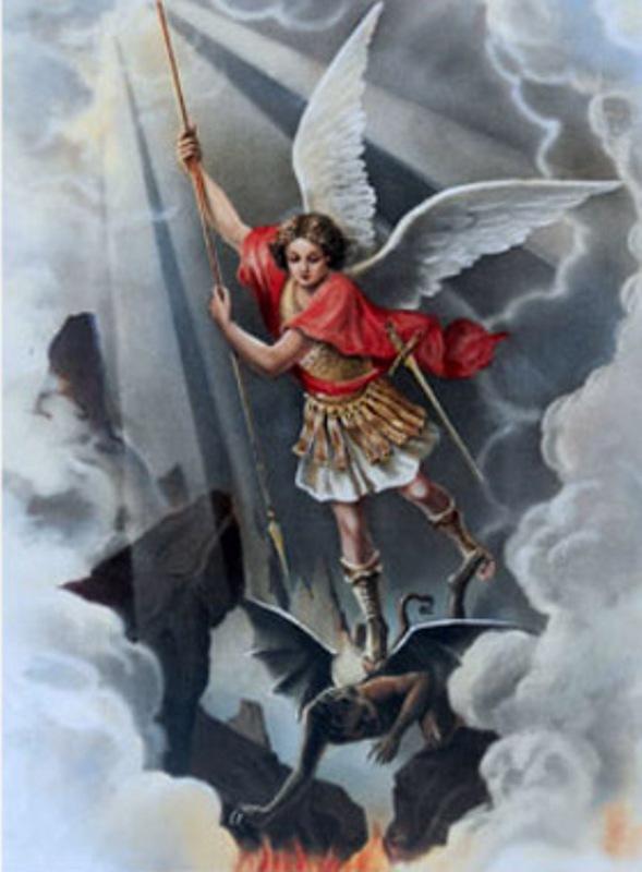Saint Michel Archange Lithog10