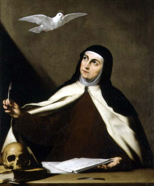Sainte Thérèse d'Avila, Vierge, Réformatrice des Carmélites (15 octobre) Yg95b710
