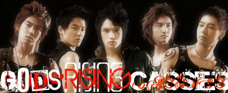 東方神起-동방신기-Gods' Rising Cassies