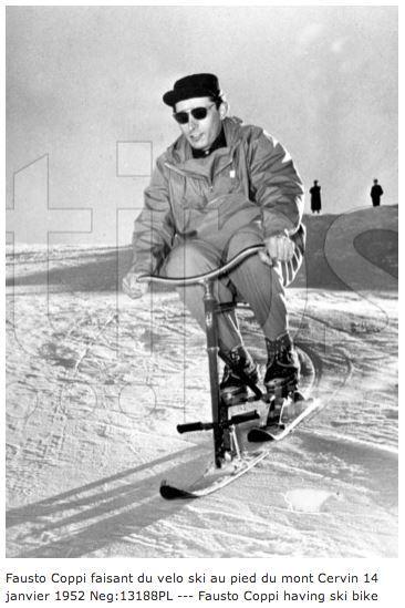 Snowbike (véloski) Brenter orange, fin années 70 Tumblr10