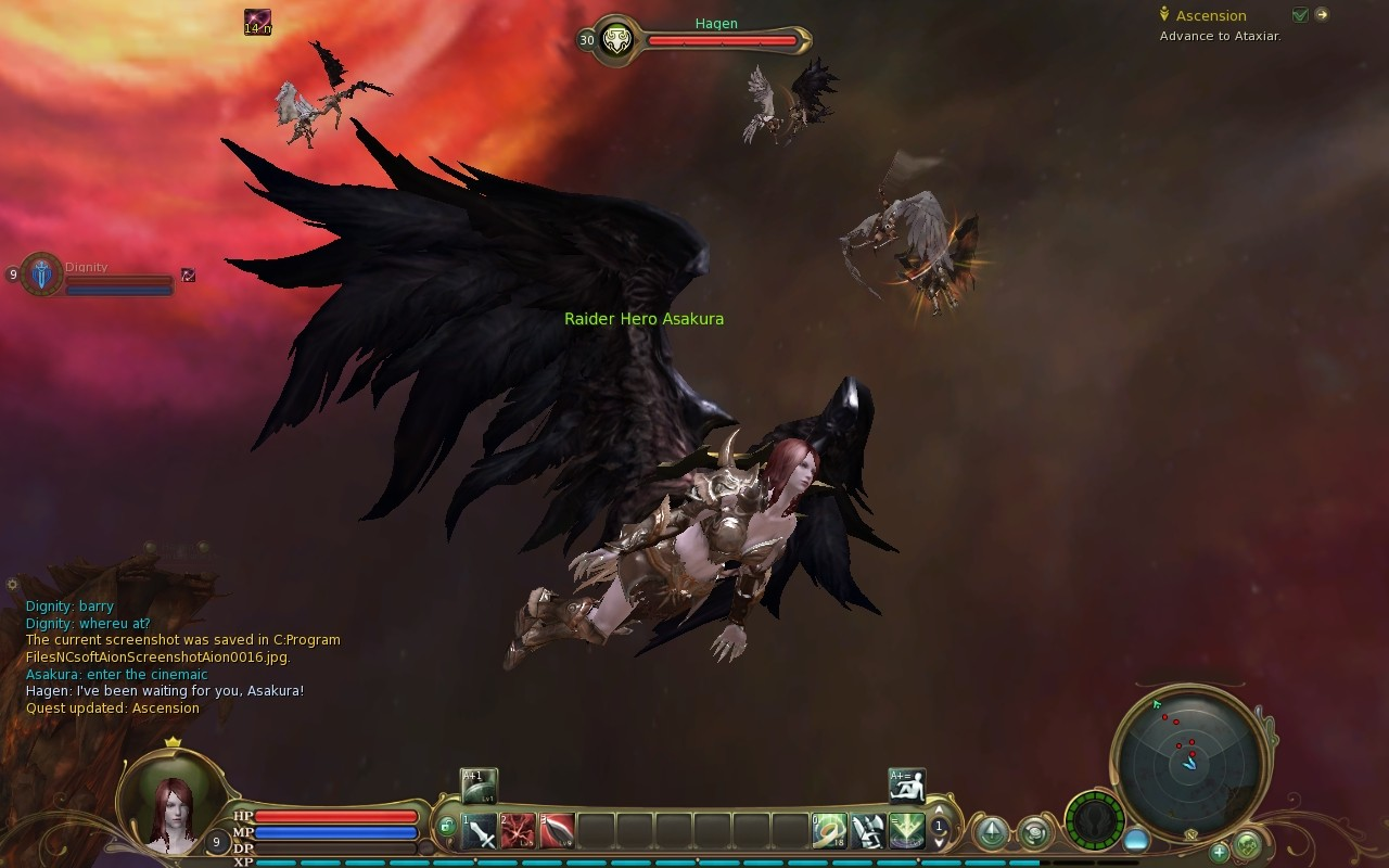 played aion online passed weekend Aion0020