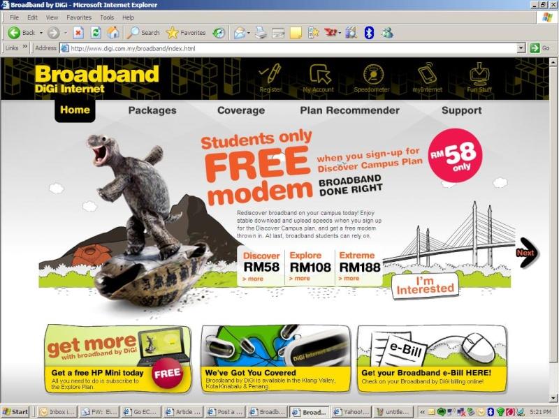 Mobile Broadband DiGi Promo11