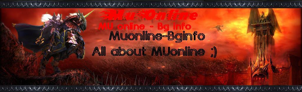 MUonline-BGinfo Forum