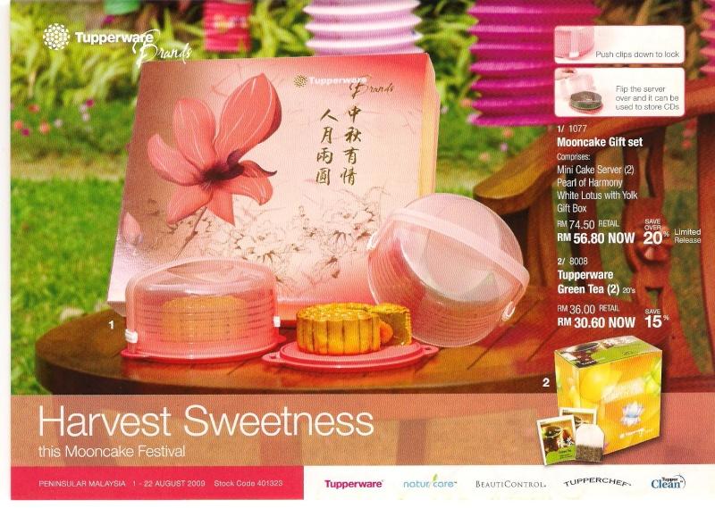 Tupperware Leaflet - Mooncake festival/ Ramadhan or Raya celebration Moonca11
