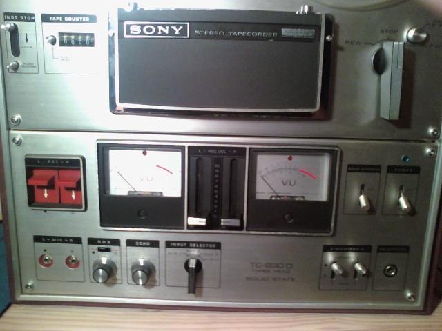 Sony stereo taperecorder TC 630 D 09102810