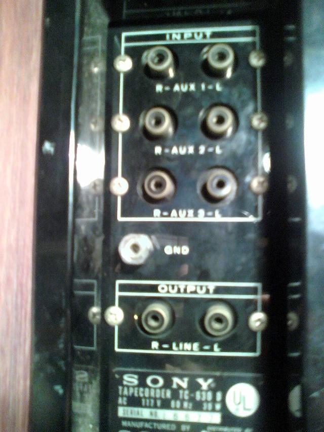Sony stereo taperecorder TC 630 D 09102813