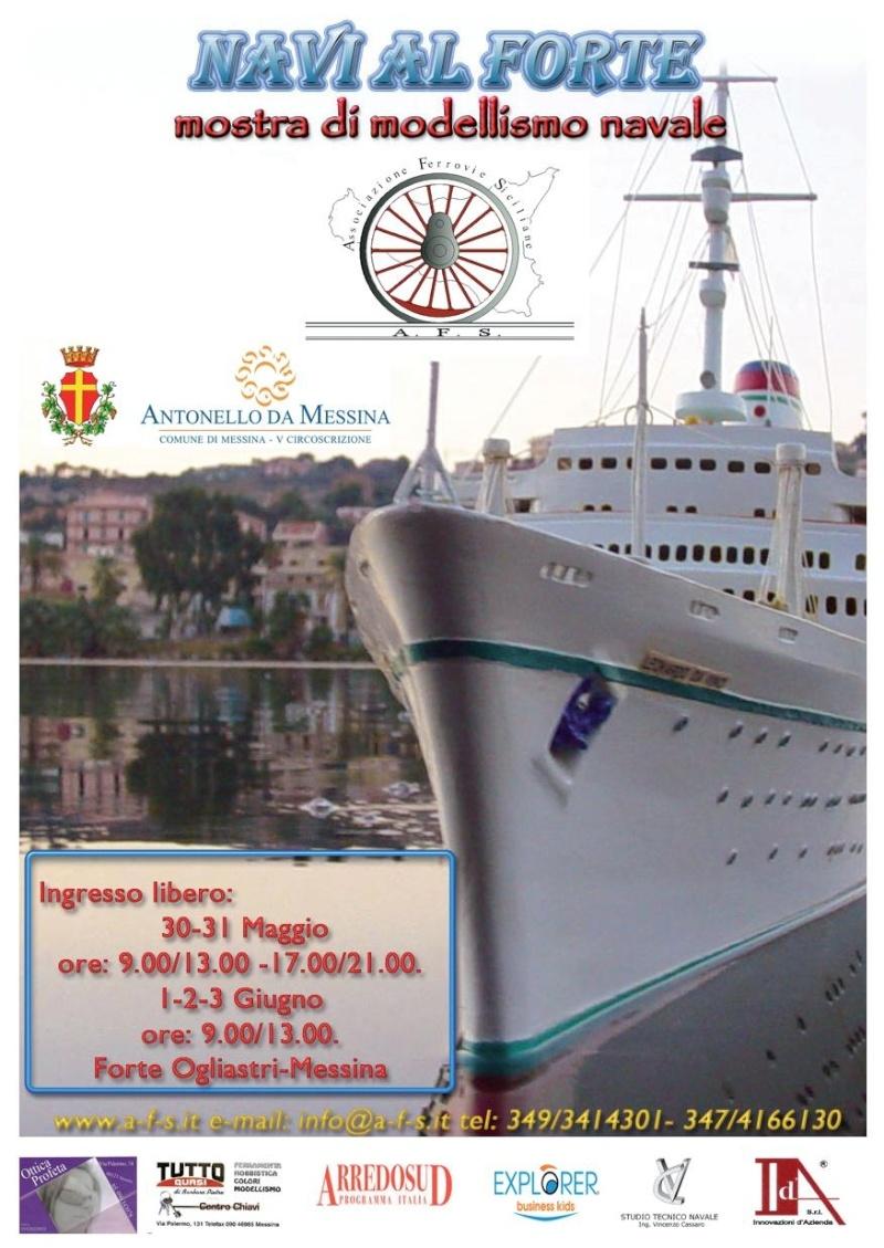 30 maggio -> 3 giugno 2009:  NAVI AL FORTE (Messina) Locand11