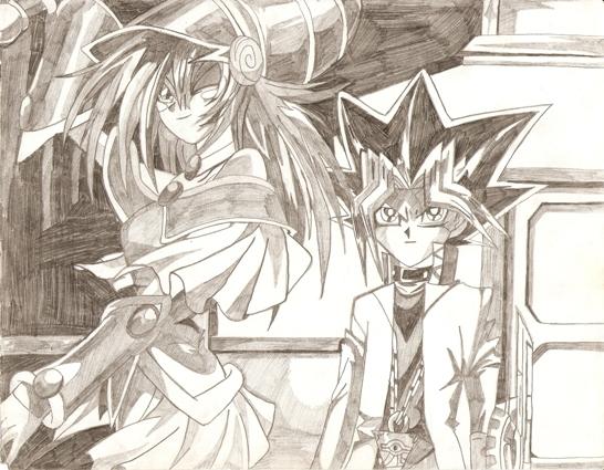 Yu-Gi-Oh! Drawings Yu-gi-13