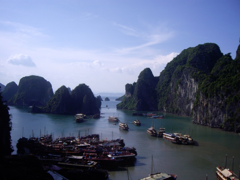 Baie d'Halong au Viet nam Imgp2810
