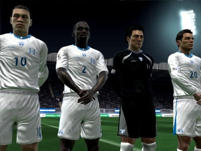 Futbol Hondureño FIFA 09 2.0  por Ronald618 Elhimn11