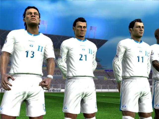 Futbol Hondureño FIFA 09 2.0  por Ronald618 Elhimn12