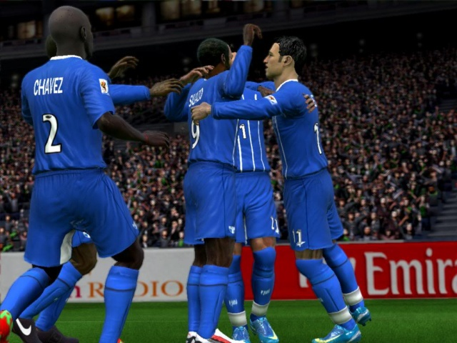 Futbol Hondureño FIFA 09 2.0  por Ronald618 Hondur10