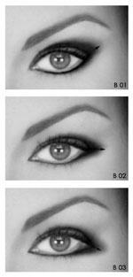 Come correggere il tratto della matita per occhi? Trucco10