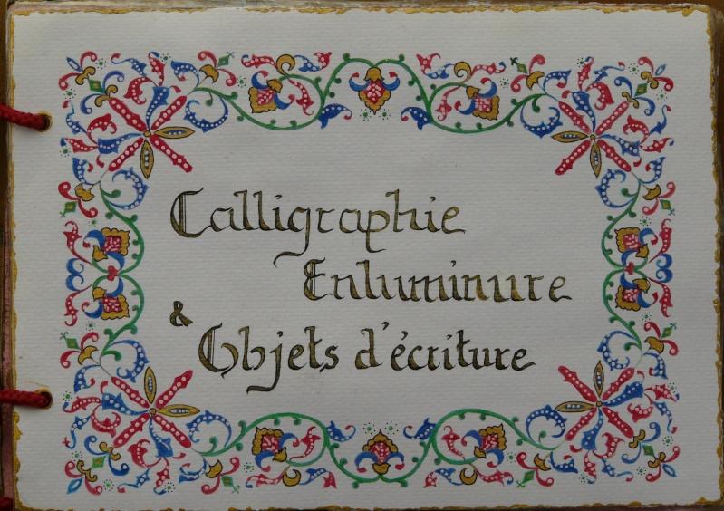 De bien belles pages... d'un circle journal Objets d'écriture et Enluminures P1020710