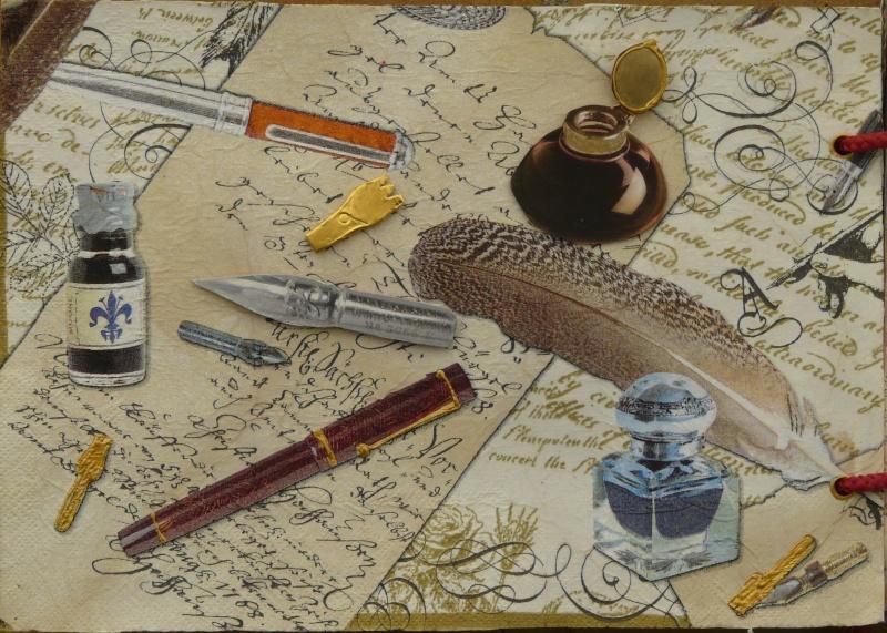 De bien belles pages... d'un circle journal Objets d'écriture et Enluminures P1020711