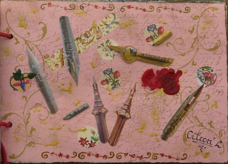 De bien belles pages... d'un circle journal Objets d'écriture et Enluminures P1020714