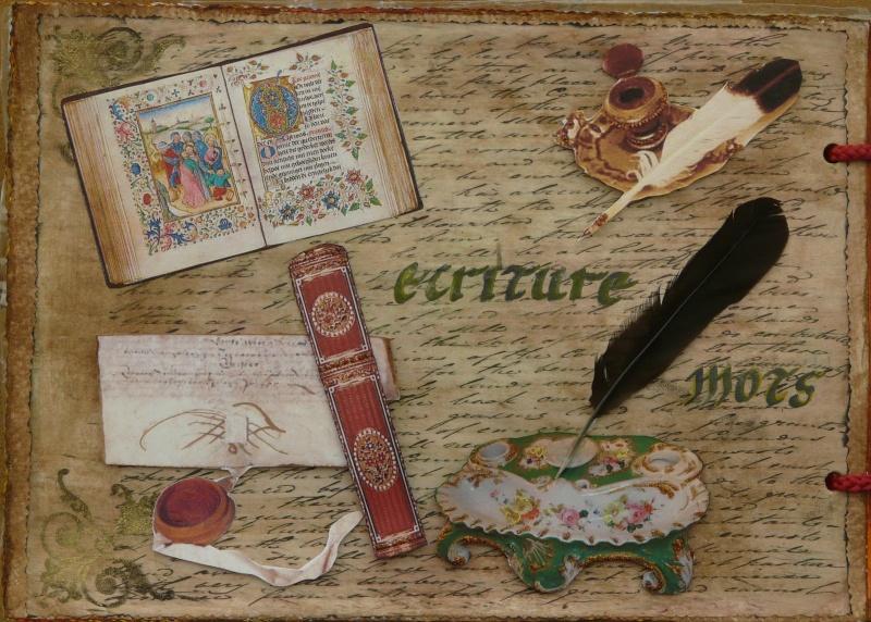De bien belles pages... d'un circle journal Objets d'écriture et Enluminures P1020715