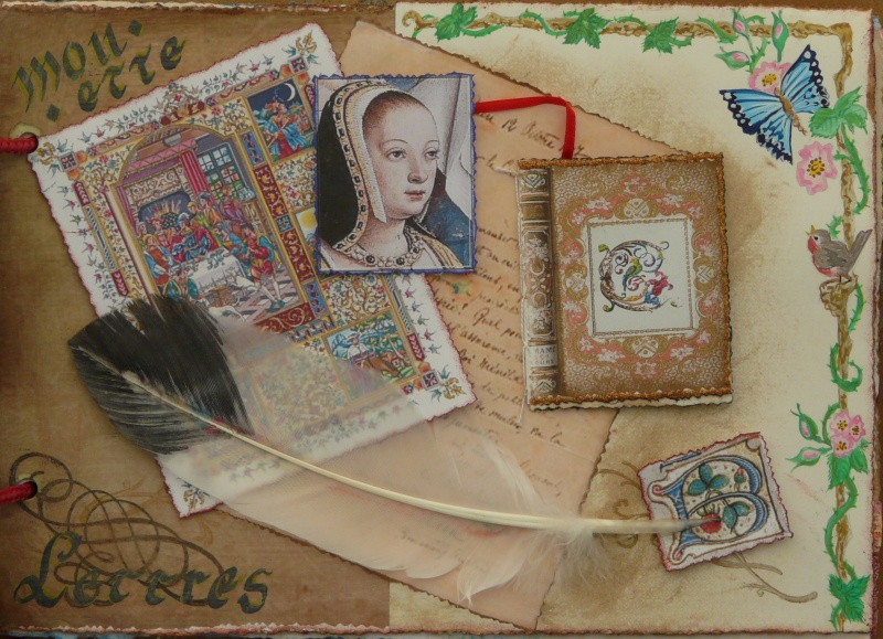 De bien belles pages... d'un circle journal Objets d'écriture et Enluminures P1020716