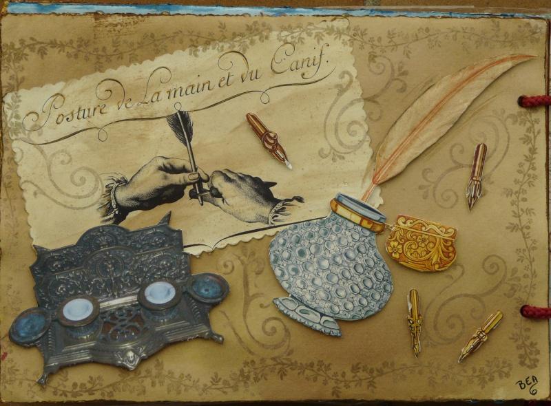 De bien belles pages... d'un circle journal Objets d'écriture et Enluminures P1020721