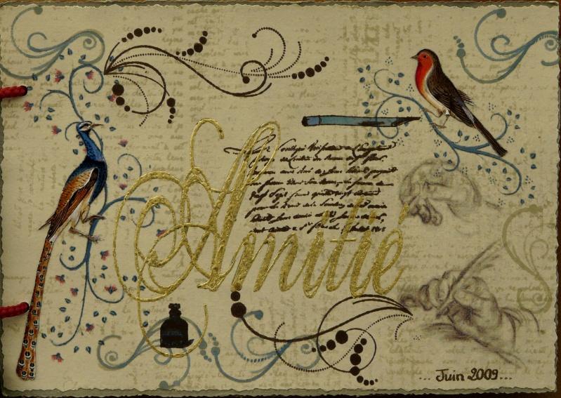 De bien belles pages... d'un circle journal Objets d'écriture et Enluminures P1020724
