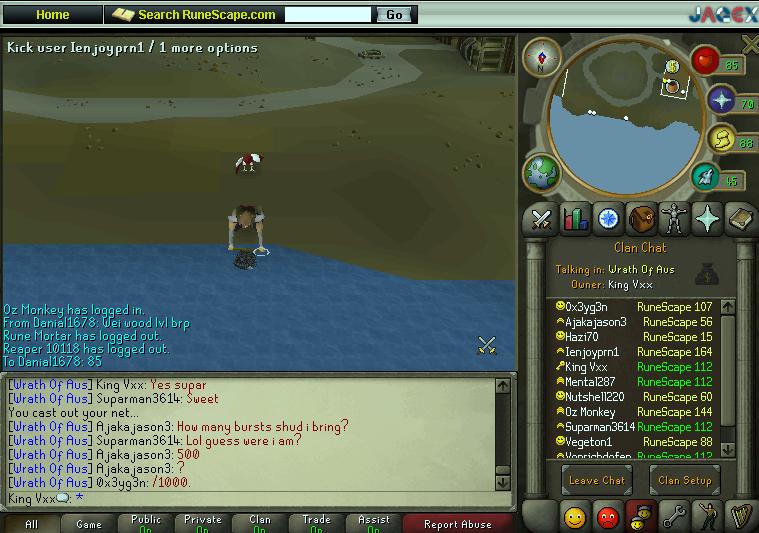 Runescape Screenshots Clan10