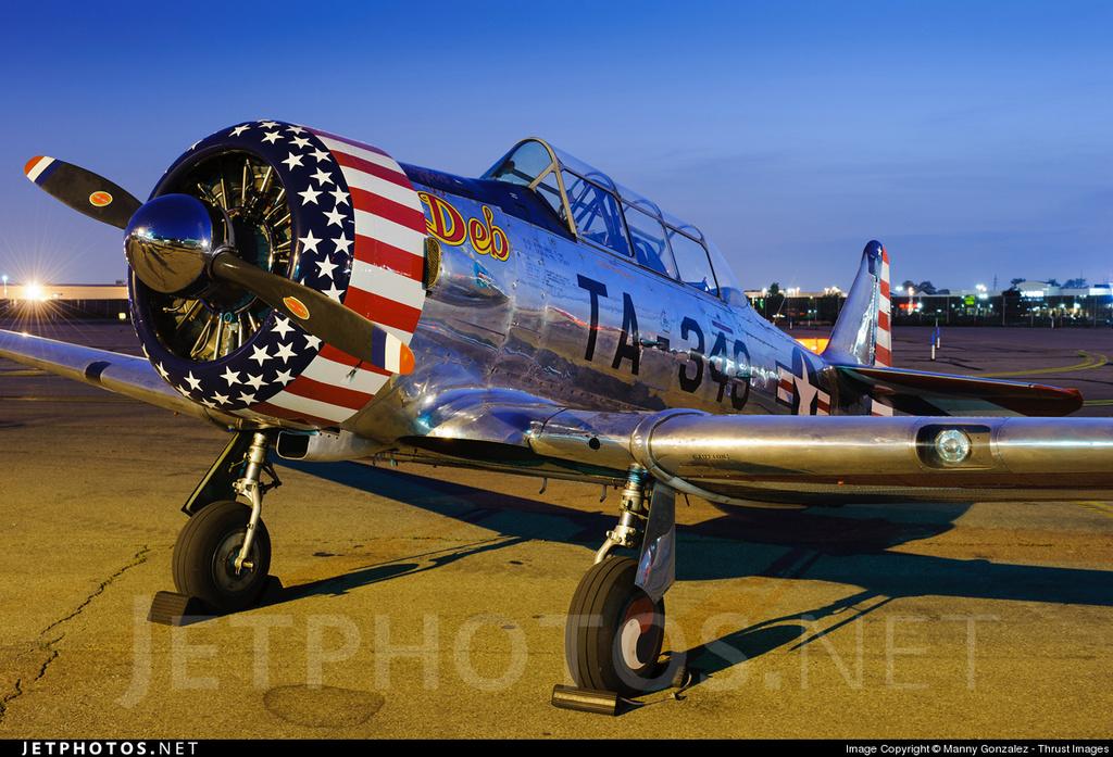 "Texan T-6 C TA-349 ""Dazzlin' Deb"" - Col. Thomas E. Murphy - 47th Flying Trainig Wing USAF 0110"
