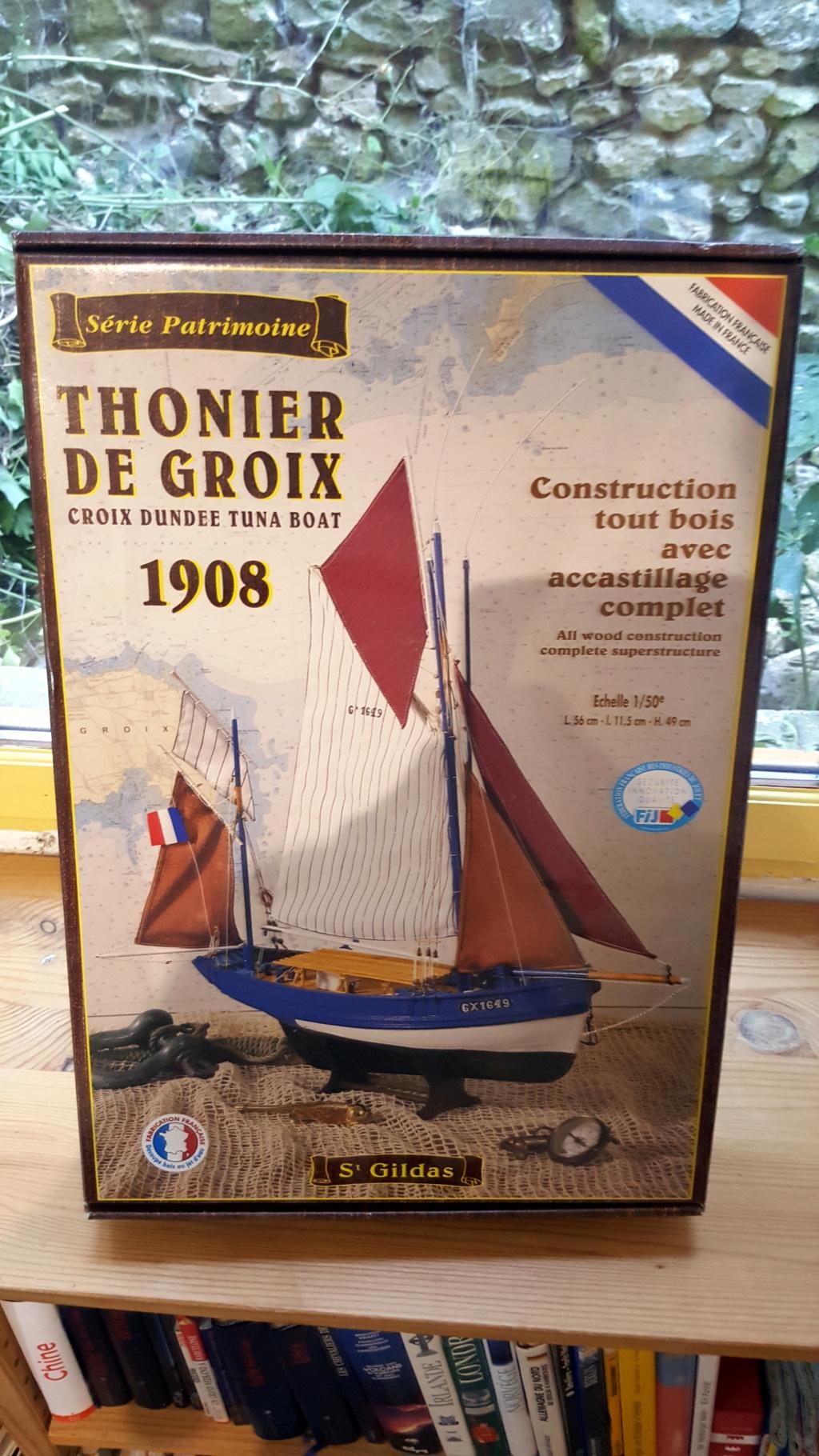 """Thonier (dundée) de Groix - Le """"Mimosa"""" - 1/50 (kit Soclaine) 20180629"""